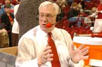 Mike Nail, the Voice of the Razorbacks for the Arkansas men's basketball team, will retire after his 29th season of calling the Hogs in 2010.