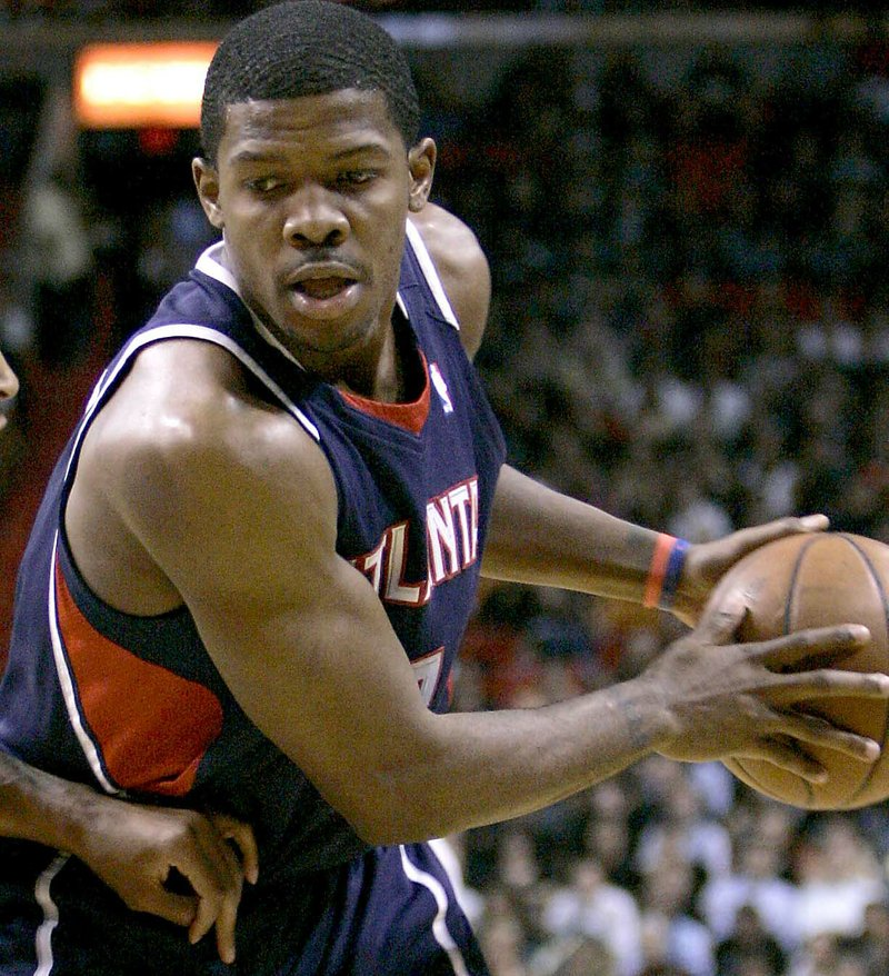 Atlanta Hawks guard Joe Johnson