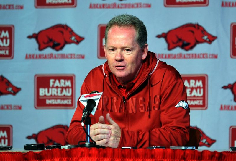 Arkansas Coach Bobby Petrino told reporters Tuesday he has not determined how much live work running back Knile Davis will have during spring practice.
