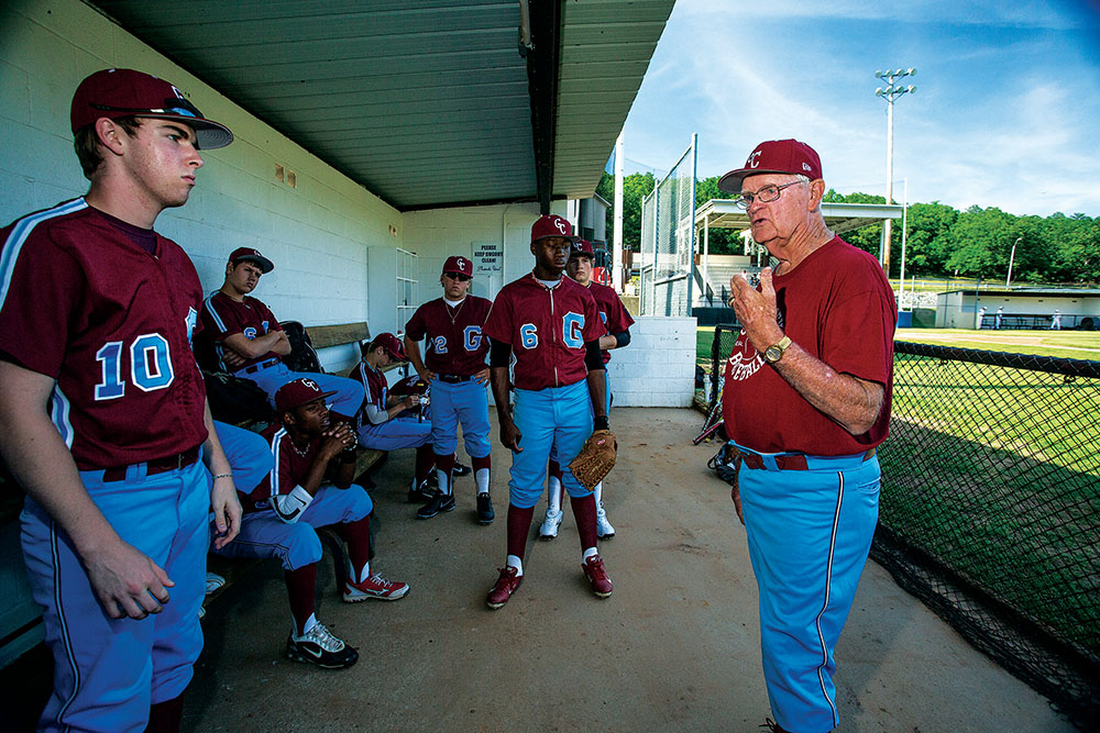 Volunteer Baseball Coach Still Going Strong At Age 78