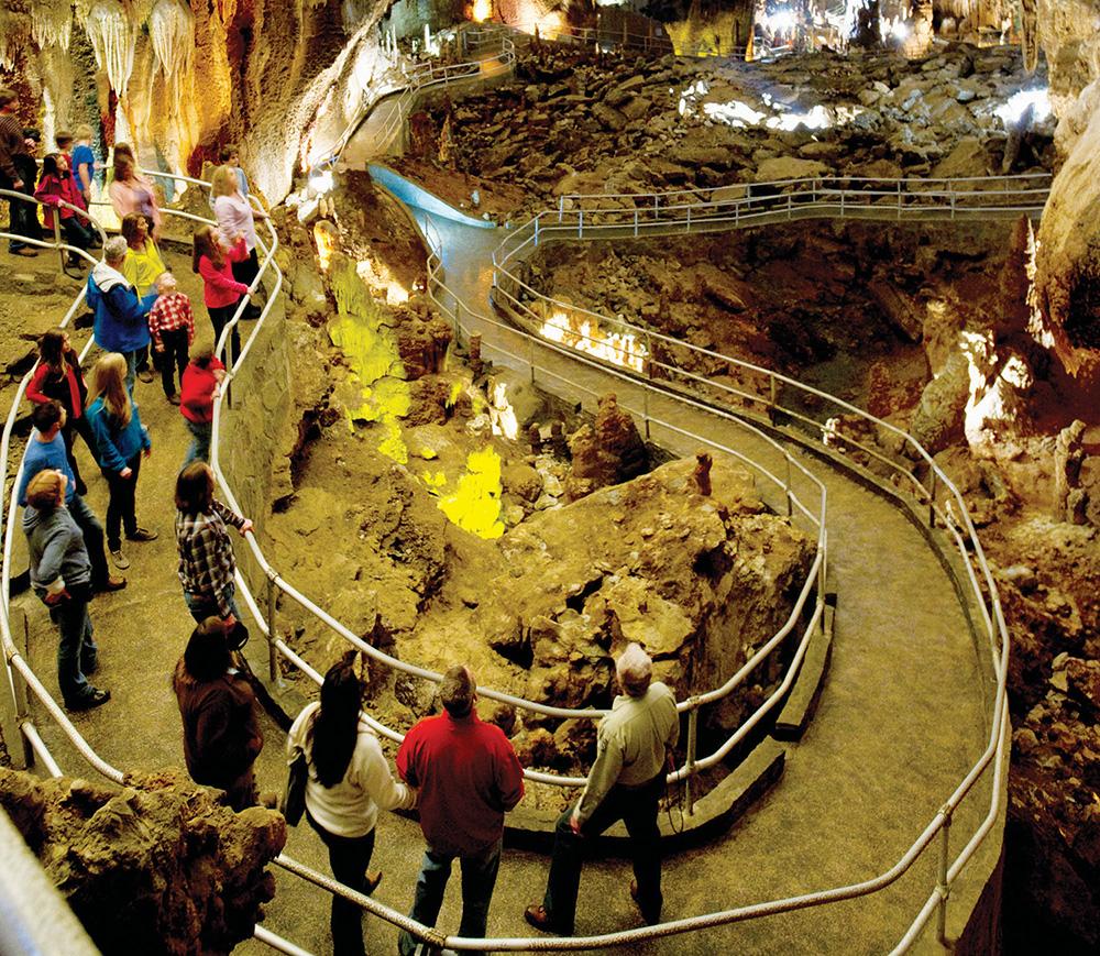 Blanchard Springs Caverns Christmas Lights 2020 Blanchard Springs Caverns marks 40 years