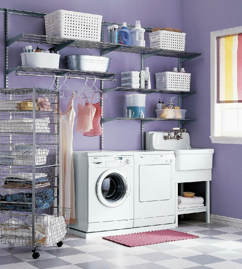 Laundry Room Planning Maximizes Small Space