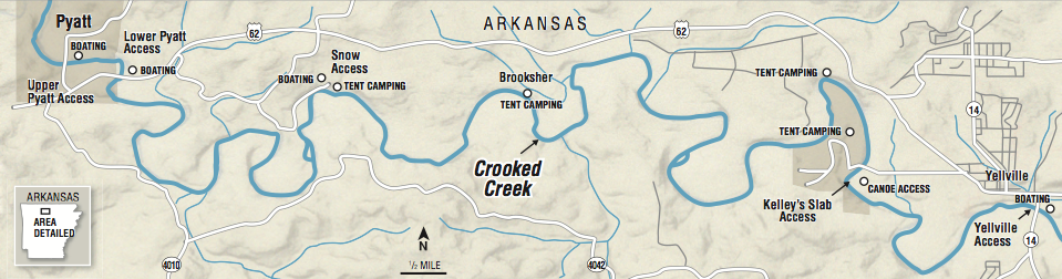 crooked creek arkansas map Trio Sees Why Crooked Creek Is An Arkansas Water Trail crooked creek arkansas map