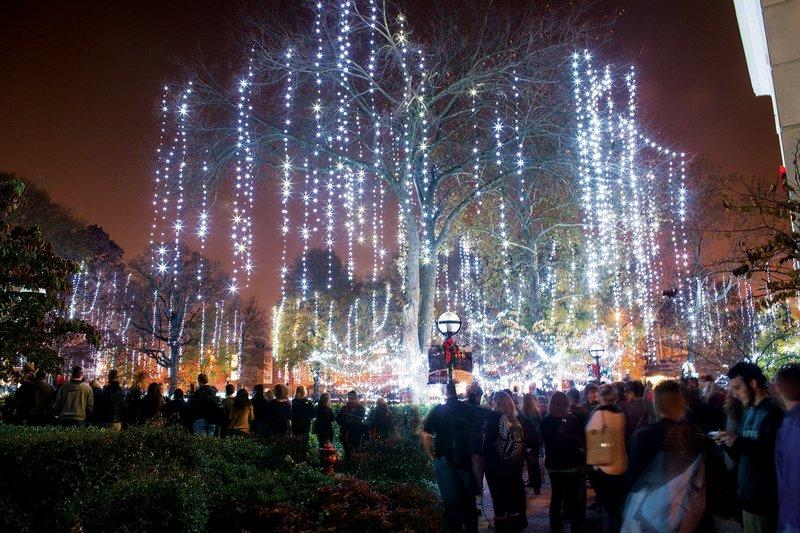 Blanchard Springs Caverns Christmas Lights 2020 Three Rivers area gets into the Christmas spirit