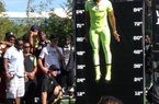 North Little Rock safety Tyler Phillips jumps 42.3 inches in the vertical during the SPARQ National Championship.