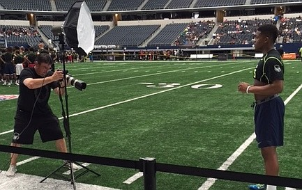 Little Rock Christian junior running back Damarea Crockett received extra attention from Nike officials after posting the second best SPARQ rating in the nation on Saturday.