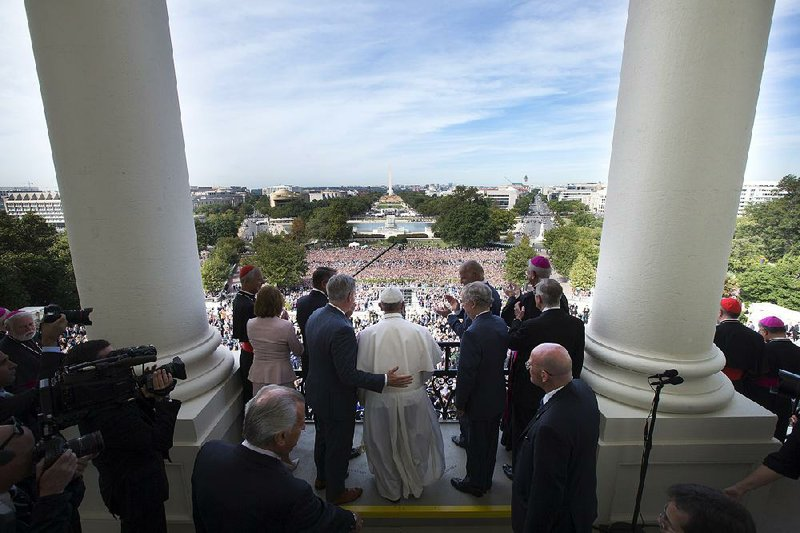 Seeing Hearing Pontiff Leave Arkansans In Awe