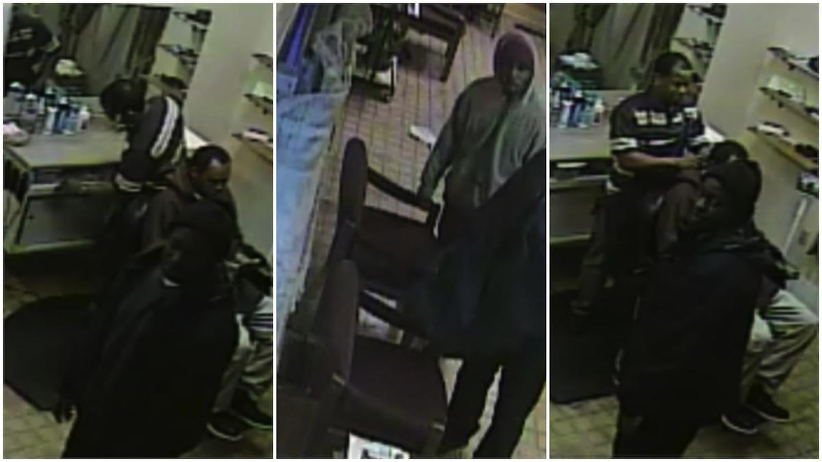 15 men sought after barber shot, injured outside Pine Bluff shop