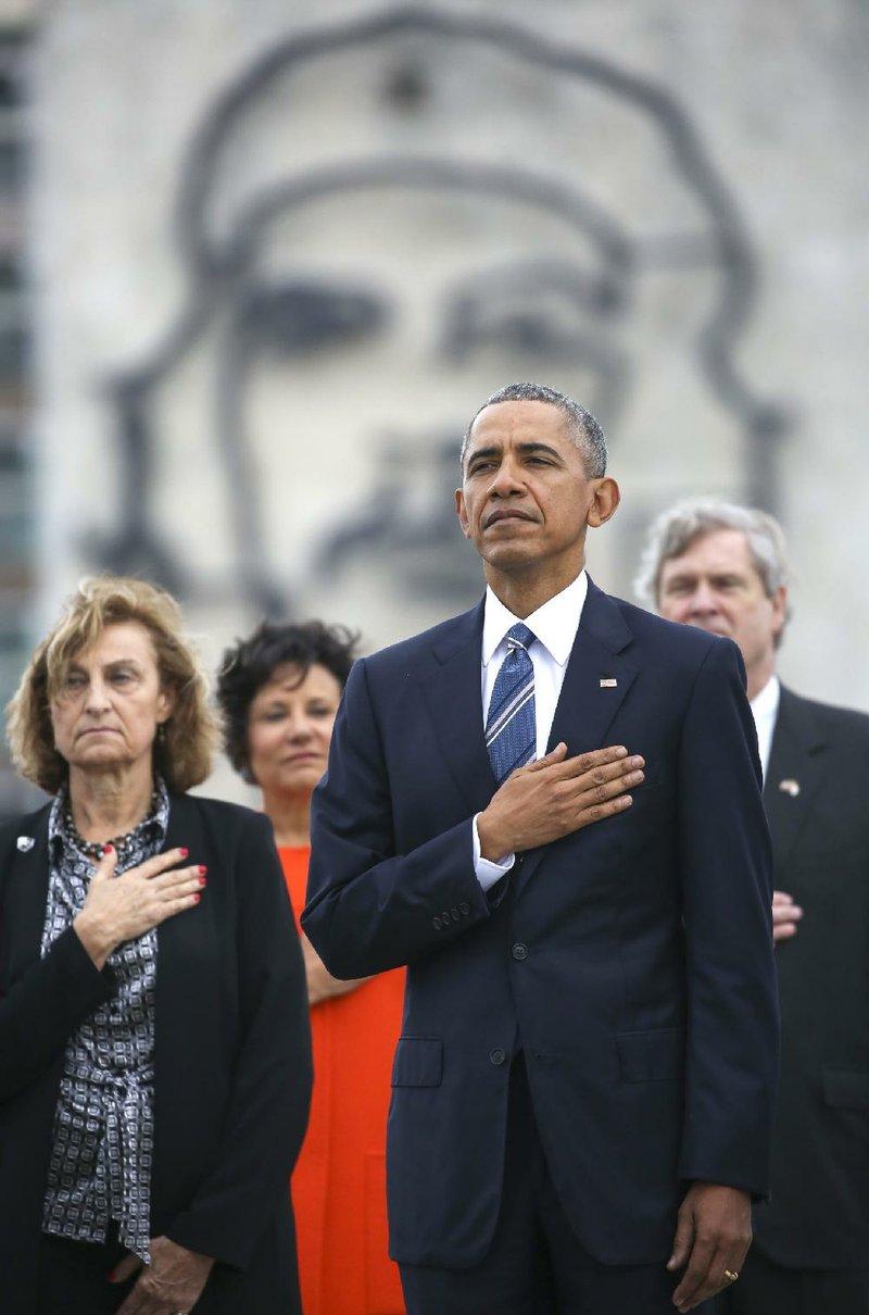 Cubans watch Obama push human rights