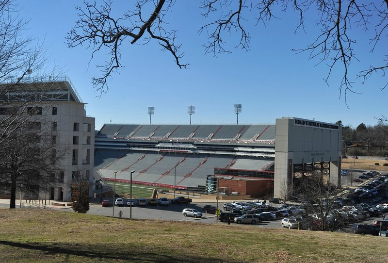 University of Arkansas officials are proposing a renovation to the university's Reynolds Razorback Stadium to expand the stadium's north end to add an estimated 3,200 seats, most of it prime seating.