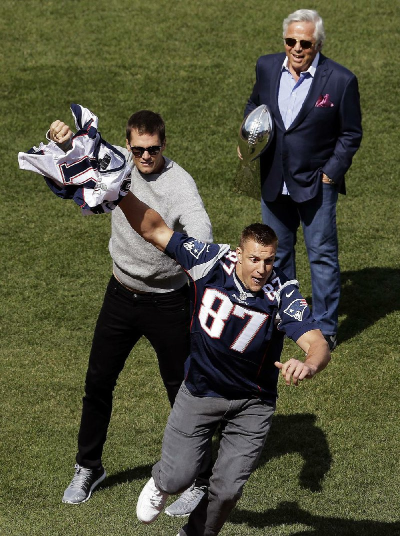 So, Brady again with his jersey