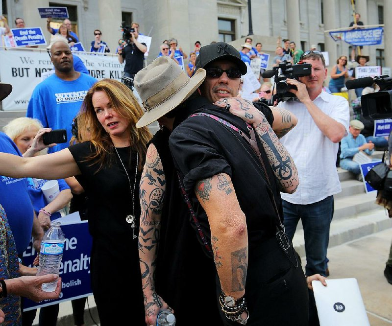 At Little Rock Rally Against Capital Punishment Echols Tells Of Death Row