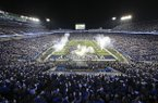 Kentucky fans fill Commonwealth Stadium before an NCAA college football game against Georgia Saturday, Nov. 5, 2016, in Lexington, Ky. Georgia won 27-24. (AP Photo/David Stephenson)