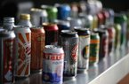This is beer for sale at a concession stand at McKechnie Field during a spring training exhibition baseball game between the Pittsburgh Pirates and the New York Yankees in Bradenton, Fla., Thursday, March 5, 2015. (AP Photo/Gene J. Puskar)