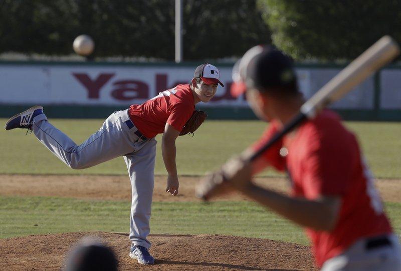 Brazilian, 16, with 94-mph fastball, draws interest