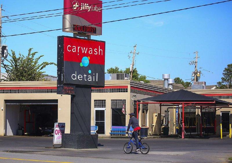 Splash Car Wash, Jiffy Lube in Little Rock sold for $2.8M ...