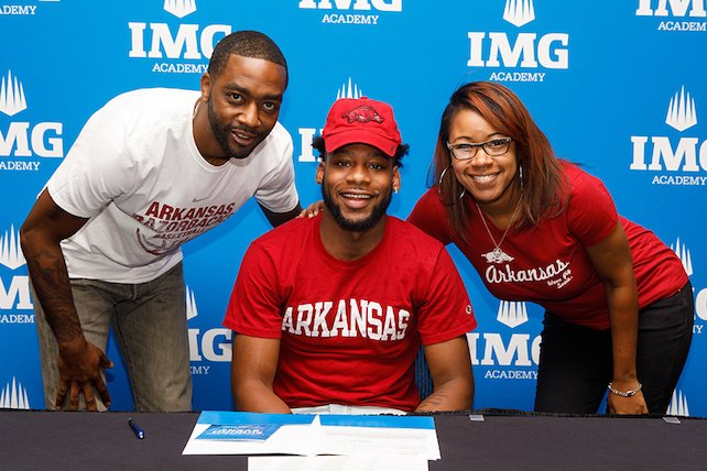 Keyshawn Embery and parents