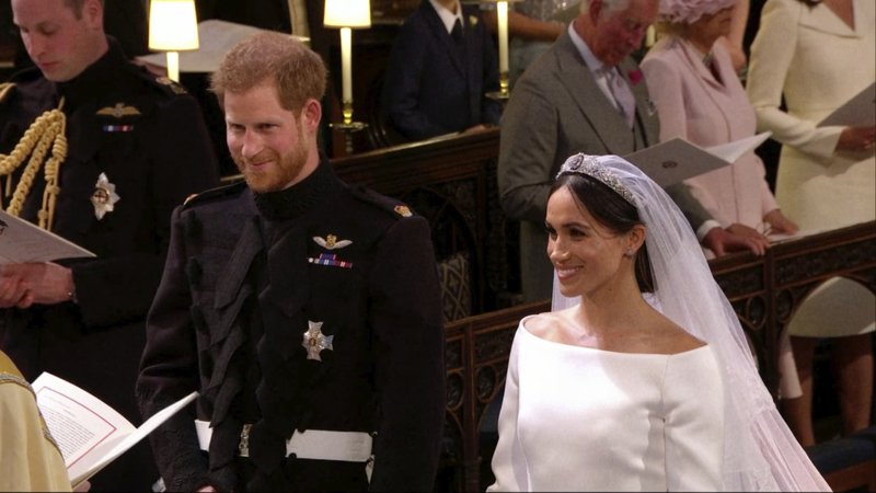 royal wedding prince harry meghan markle wed in windsor as millions watch prince harry meghan markle wed in