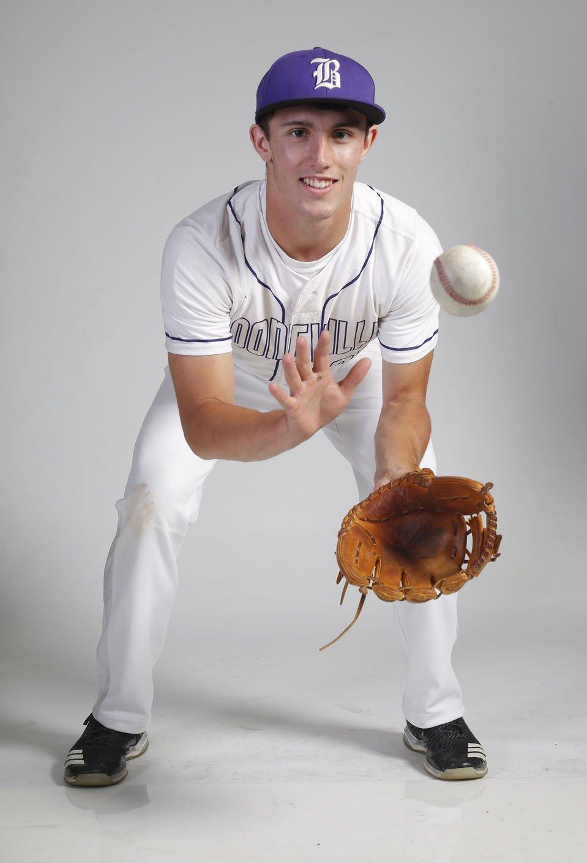 NWA Democrat-Gazette/DAVID GOTTSCHALK Brandon Ulmer of Booneville is the All-Northwest Arkansas Democrat-Gazette Division II Baseball Player of the Year.