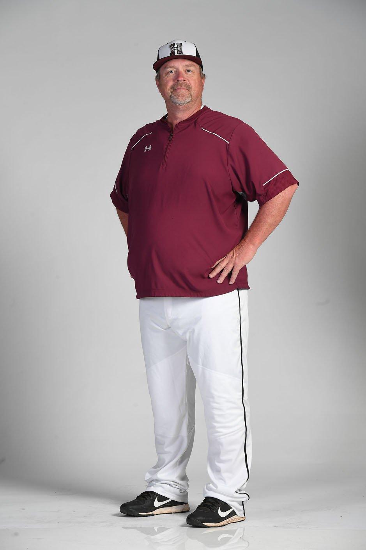NWA Democrat-Gazette/J.T. WAMPLER Greg Harris of Huntsville is the All-Northwest Arkansas Democrat-Gazette Division II Baseball Coach of the Year.