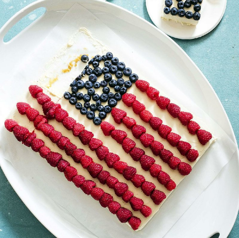 Celebrate Today With Patriotic Cake