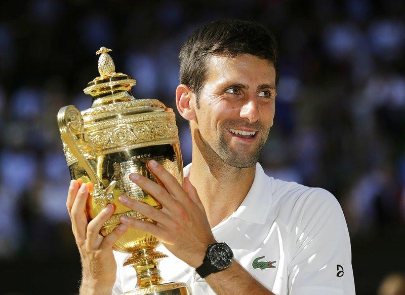 Djokovic Wins 4th Wimbledon 1st Slam In 2 Years