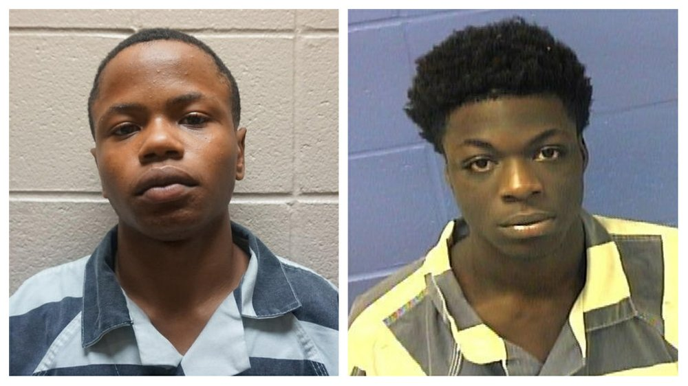 Robert Lee Smith, left, and Tacori D. Mackrell