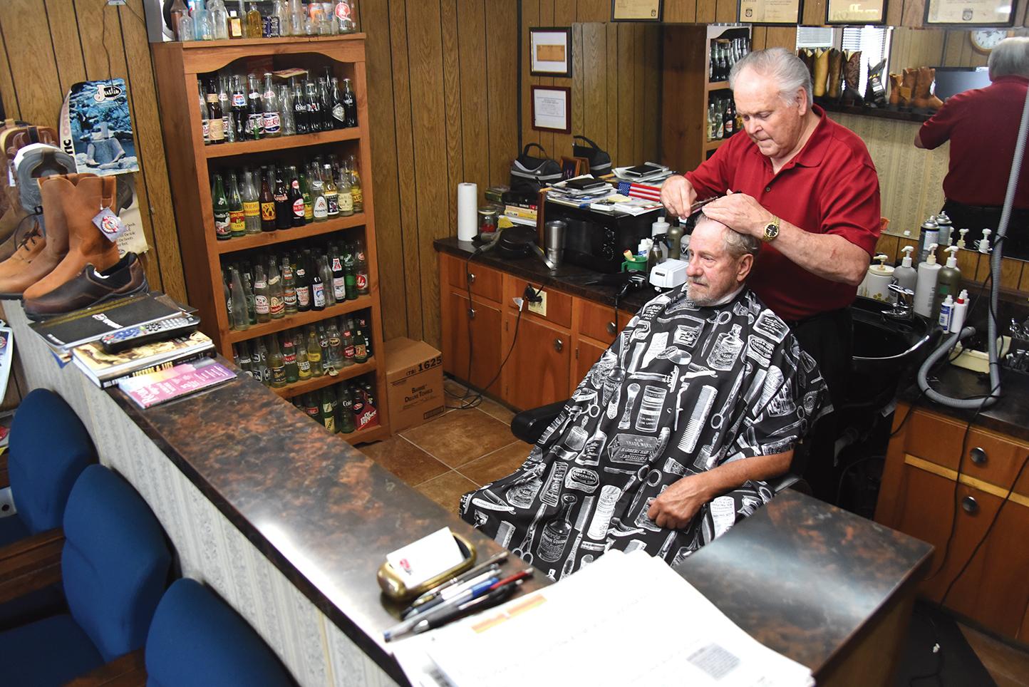 Barbershop owner celebrates 9 years