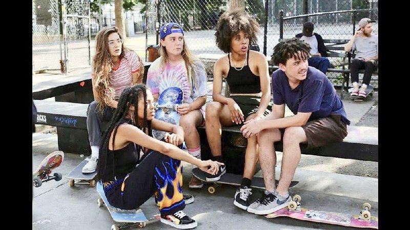 Likable Kids A Gentle Plot Keep Skate Kitchen Rolling