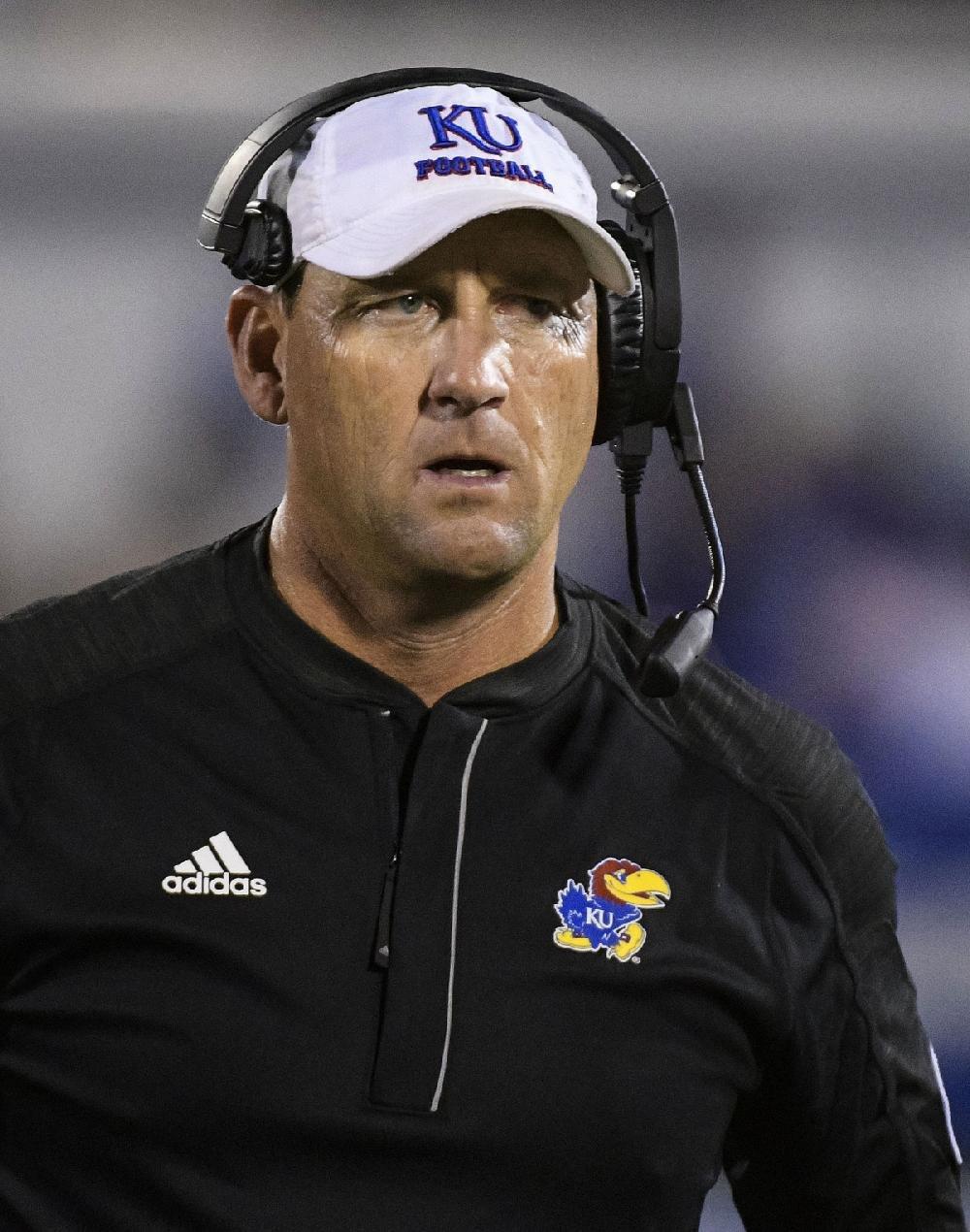 Kansas Coach David Beaty Speaks Glowingly of Oklahoma