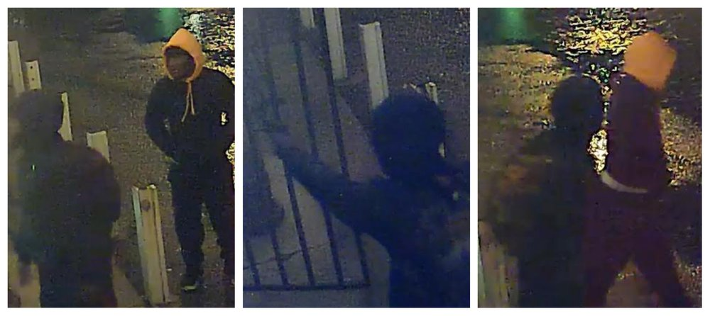 Police said these surveillance images show two suspects in the fatal shooting of a Pine Bluff pawnshop owner.