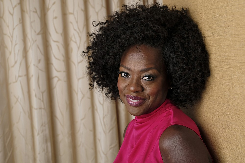 This Sept. 9, 2018 photo shows Viola Davis  posing for a portrait at the Ritz-Carlton Hotel during the Toronto International Film Festival in Toronto. 