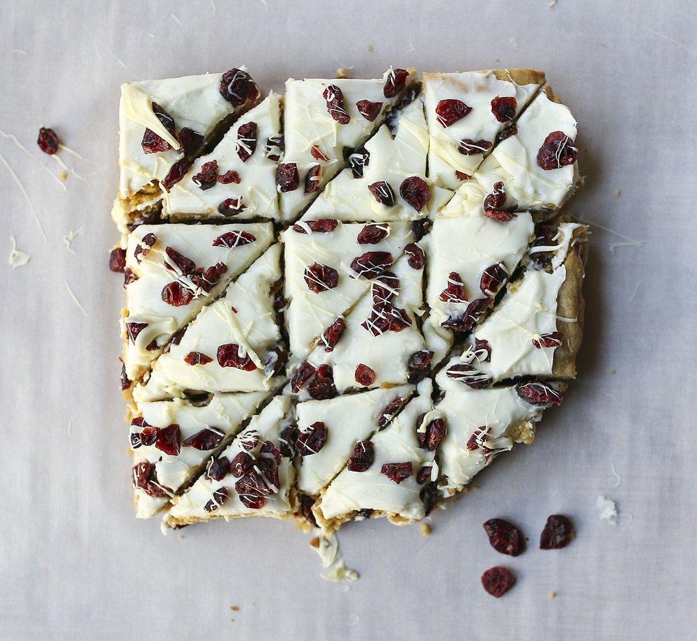 White Chocolate Cranberry Bars Photo by Mitchell Pe Masilun
