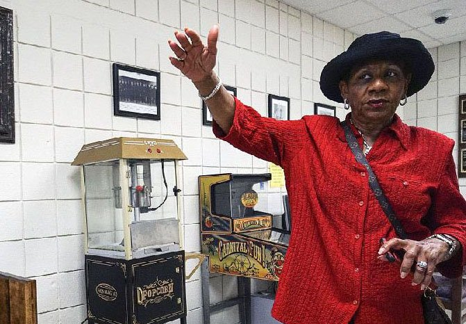 Pine Bluff Mayor Shirley Washington is shown in this file photo.