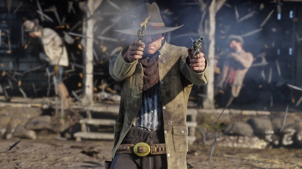 Red Dead Redemption 2 is a prequel to a Western action-adventure game released in 2010, but it's more than just a video game — it's an epic narrative traversing an immersive world full of vivid realistic detail. (Rockstar Games)