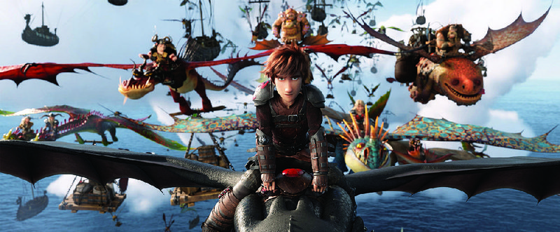Love Is In The Lair Toothless The Dragon Meets Temptress In Fiery How To Train Your Dragon Sequel