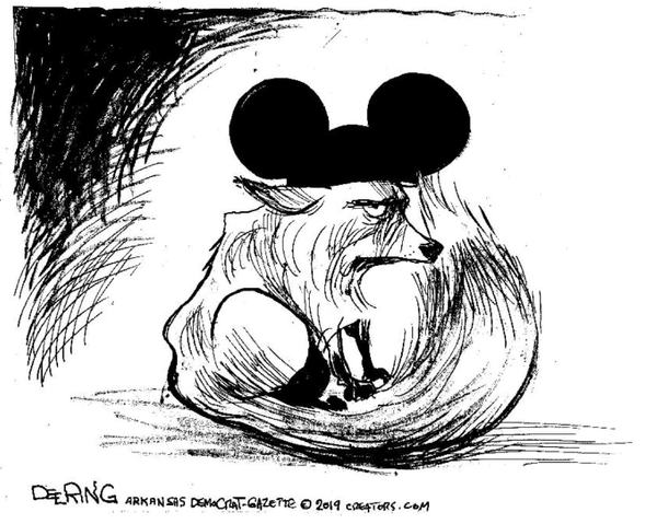 JOHN DEERING CARTOON: The Disney-Fox merger