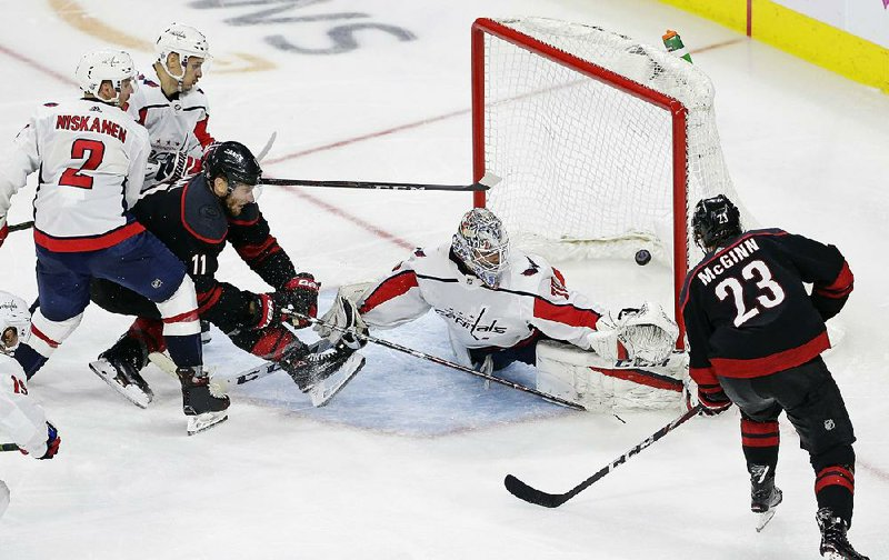 Hurricanes Blow Past Capitals In Third Period