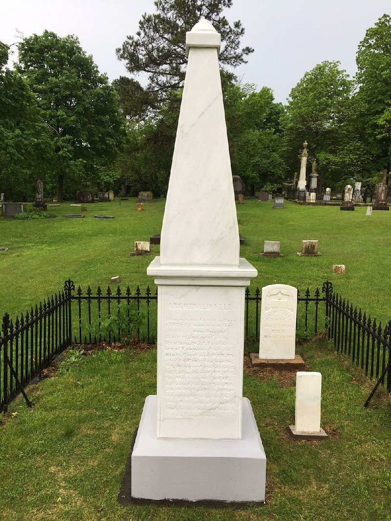 New obelisk replaces 1800s stone
