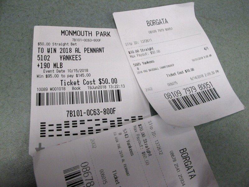 Yankee betting slip beach volleyball live betting
