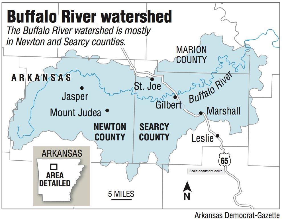 Buffalo River watershed