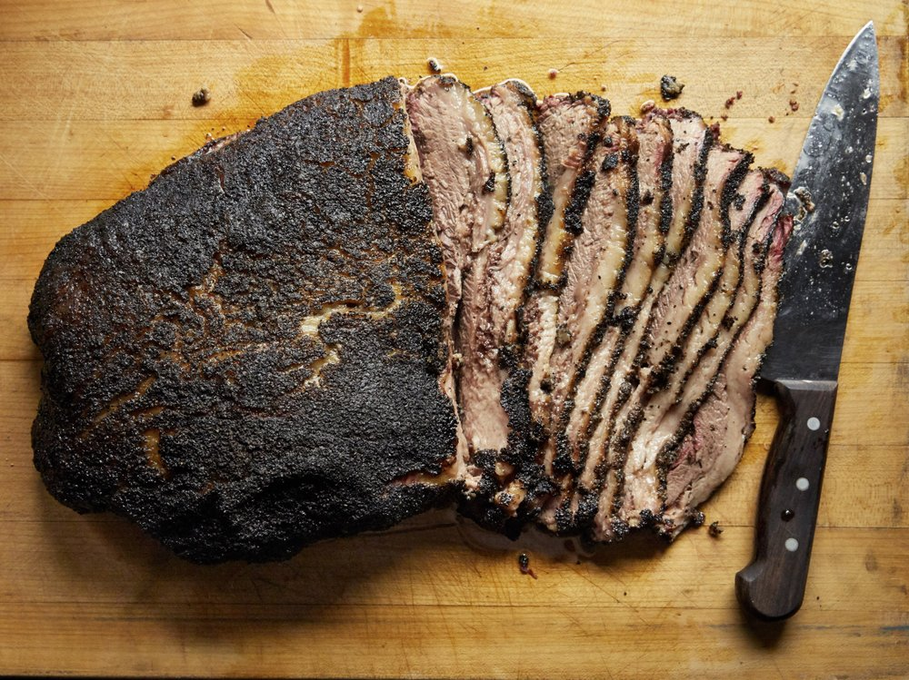 Texas Hill Country-Style Smoked Brisket Photo by Tara Donne (The New York Times)