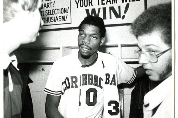 Arkansas guard Ron Brewer is shown in an undated photo. Prior to becoming a standout for the Razorbacks, Brewer was one of the greatest high school players in Arkansas history.