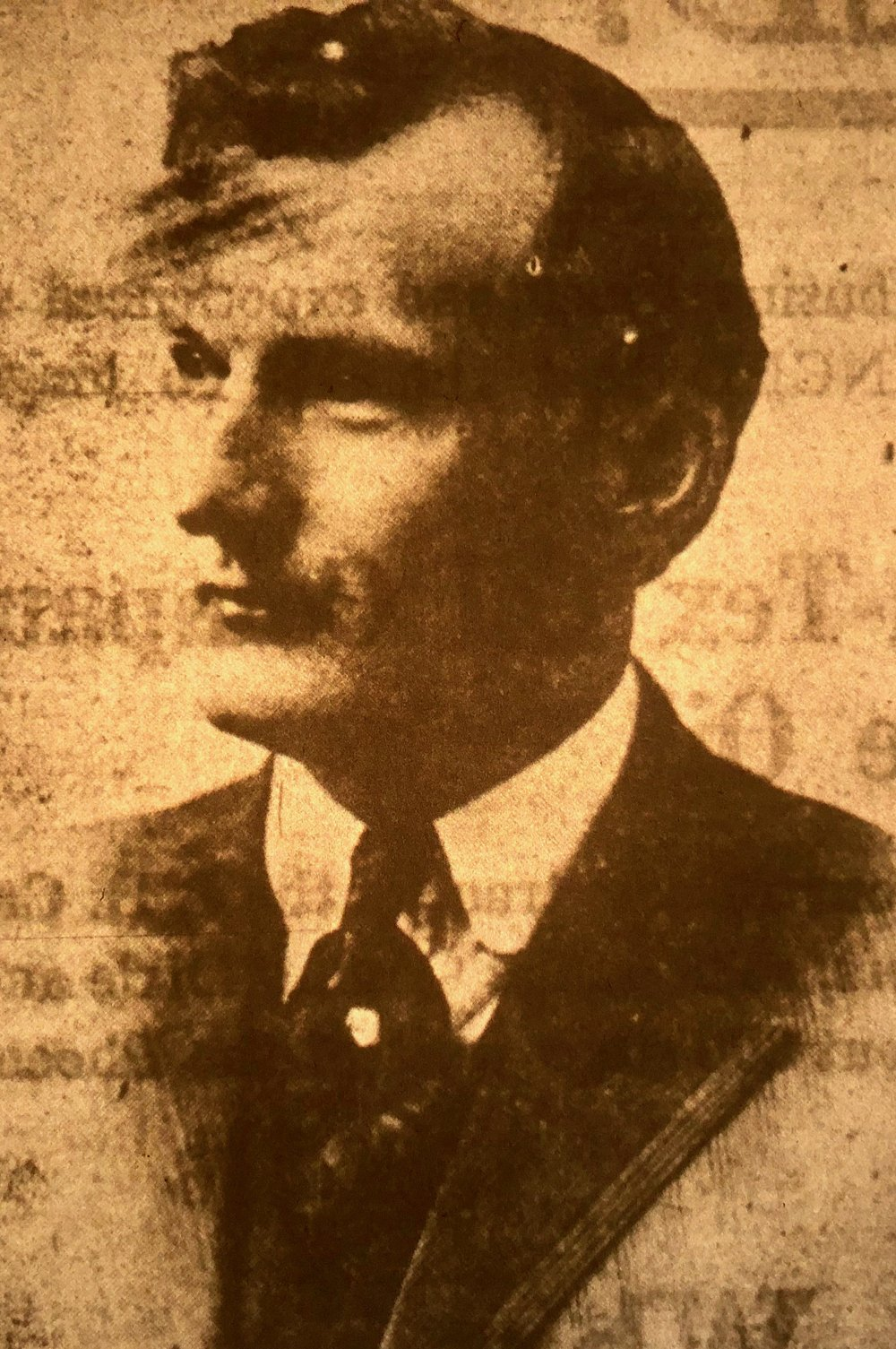 State Sen. Houston Emory of Garland and Montgomery counties opposed women's suffrage. (Arkansas Democrat-Gazette)
