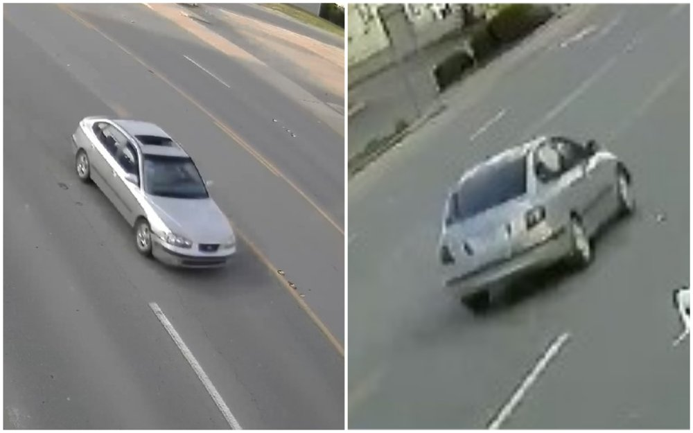 Sherwood police said investigators were working Saturday to determine the identity of the driver of a car captured on video on July 18.