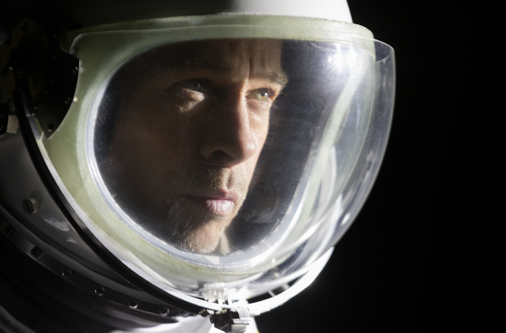 "Brad Pitt goes into outer space to seek his father in ""Ad Astra."" (20th Century Fox)"