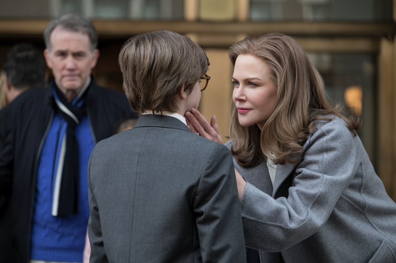 "Oakes Fegley (center) and Nicole Kidman in ""The Goldfinch."" (Warner Bros. Pictures/Amazon Studios_"