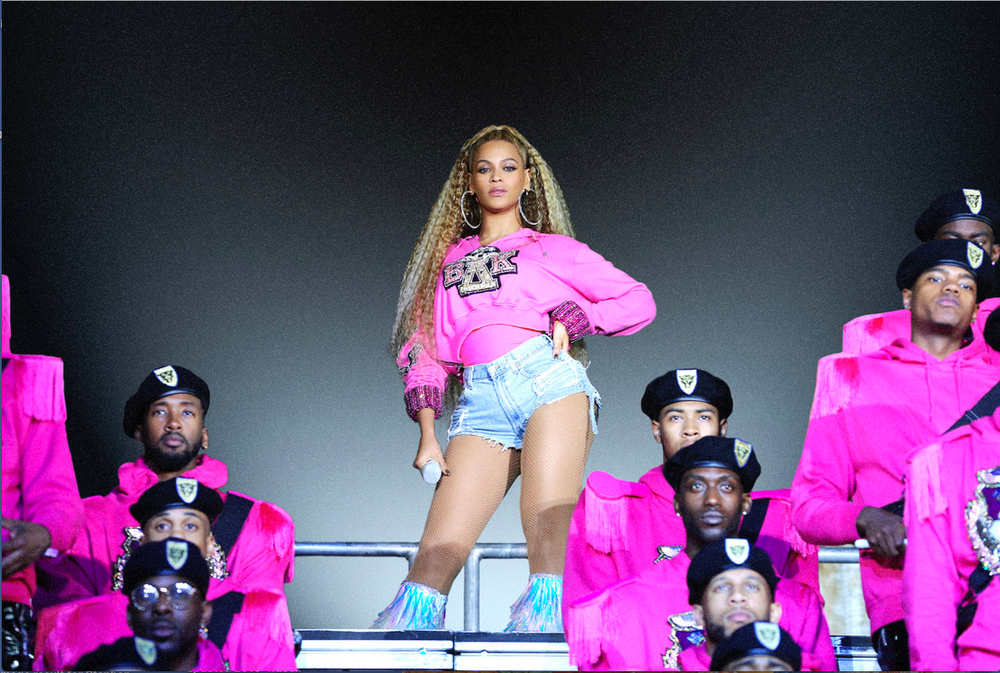 """Beyonce appears in her documentary """"Homecoming: A Film by Beyonce,"""" which is nominated for several Emmy Awards. (AP)"""