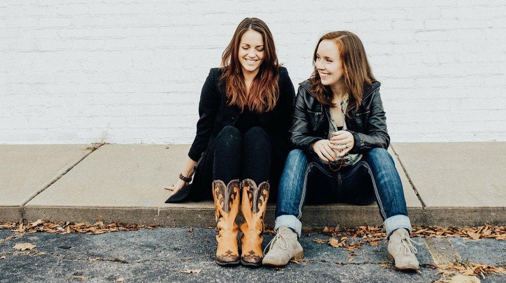 A Rowdy Faith: Cate Davison (left) and Alyson Reid