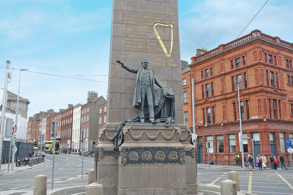 This Dublin statue honors Charles Stewart Parnell, beloved for his tireless work for land reform and Irish home rule. (Photo by Rick Steves via Rick Steves' Europe)